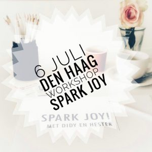 workshop spark joy 6 juli